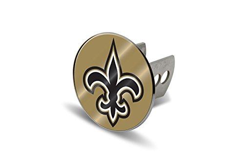 NFL New Orleans Saints Laser Cut Metal Hitch Cover, Large, S