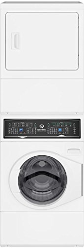 Speed Queen SF7000WE 27 Inch Electric Laundry Center with 3.42 cu. ft. Washer Capacity, in White