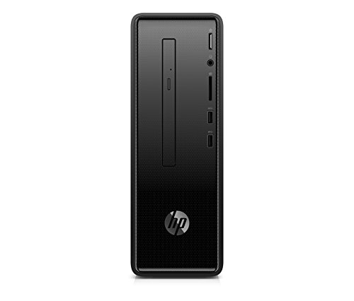 (HP Slim Desktop Computer, Intel Pentium Silver J5005, 4GB RAM, 1TB Hard Drive, Windows 10 (290-a0020, Black))