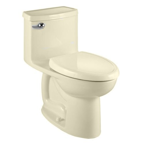 American Standard 2403.328.021 Compact Cadet 3 Flowise One Piece Toilet Less Seat, Bone