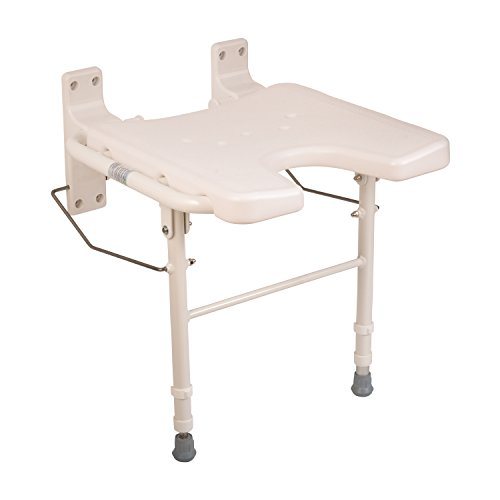 Healthsmart Wall Mount Fold Away Bath Chair Shower Seat B...
