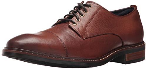 Cole Haan Men's Watson Casual Cap Toe Oxford Shoe, Brown, 11.5 M US