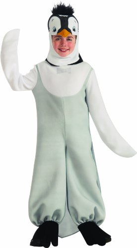 Happy Feet Child's Deluxe Penguin Costume - One Color - Medium