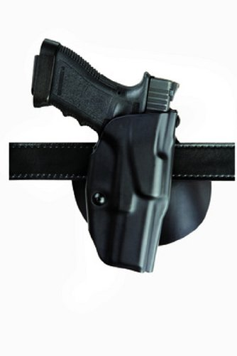 Safariland Sig Sauer P250 9, 40, 45 6378 ALS Concealment Paddle Holster, Plain Black, Left Handed