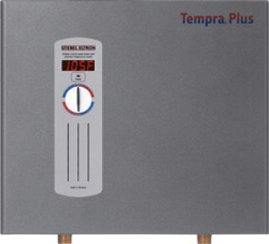 Stiebel Eltron Tempra Plus 24 kW, Tankless Electric Water Heater with Self-Modulating Power Technology and Advanced Flow Control