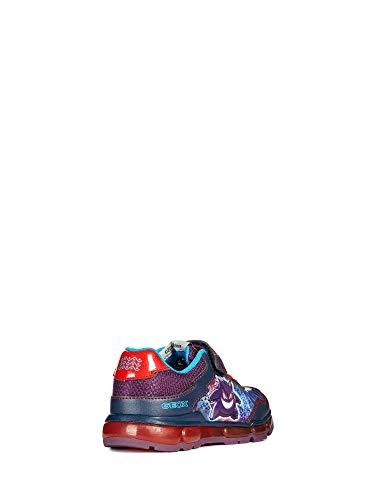 Luci Geox 33 Boy J8444c Sneaker Jr Android xHHUPIq