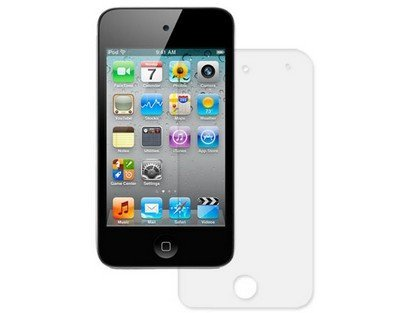 Protective Screen Protector Clear Film For Apple iPod Touch 4 (Invisibleshield Ipod Touch 5)