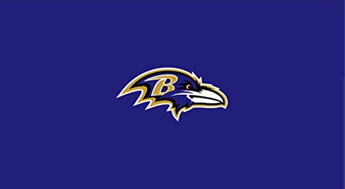 Imperial Officially Licensed NFL Merchandise: 8-Foot Billiard/Pool Table Cloth, Baltimore Ravens