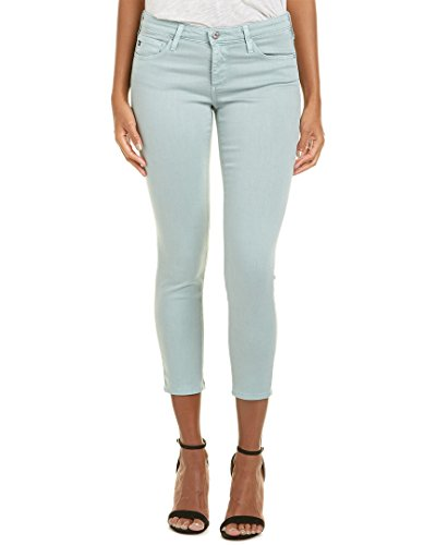 AG Adriano Goldschmied Women's The Stilt Crop, Sulfur Pale Bluejay, (Colored Crop)