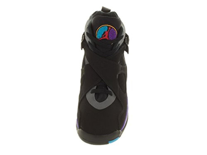 Nike Boys' Air Jordan 8 Retro Bg Sneakers multicolour Size: 3 UK