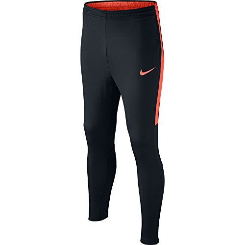 Nike Kids' Dry Football Soccer Training Pants (Large) Black, Orange