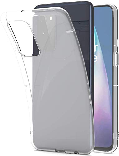 Sbuybay Slim Protective Transparent Case Shockproof Ultra Thin Clear Back Cover for OnePlus 9 Pro 5G
