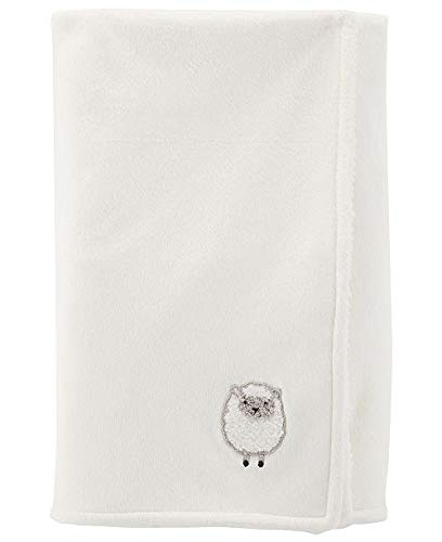- Carter's Cozy Cream Lamb Baby Blanket 40 X 30 in