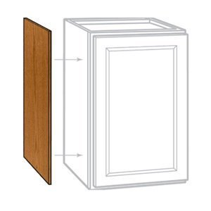 Oak Standard Cabinet - Rsi Home Products Sales 2 Pack 12