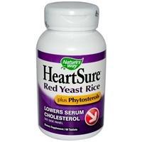 Way HeartSure rouge de riz et phytostérols de levure de la nature, 60 comprimés