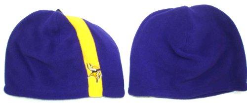 ロードされたトランスミッション結果Minnesota Vikingsニットカフなしストッキングキャップ/帽子(大人用)