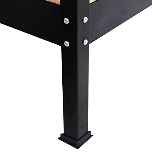 Work Bench Tool Storage Steel Frame Tool Workshop Table W/ Drawer and Peg Boar Bonus free ebook By Allgoodsdelight365 by allgoodsdelight365 (Image #7)