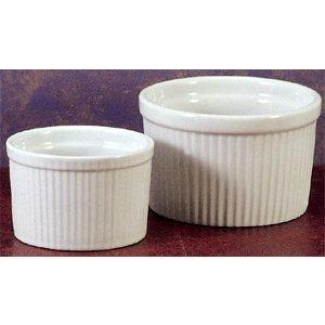BIA Cordon Bleu Soufflé Dish - 10 oz - Deep - White