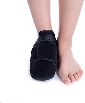 Luckyli Soporte Ortopédico De Punta Cuadrada Duradero para Hueso Roto, Zapato De Curación De Cuña,Winter,M