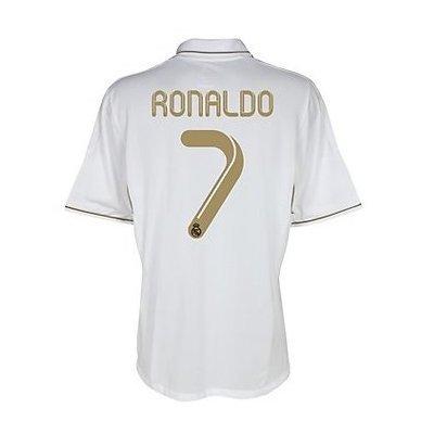 wholesale dealer 6e83e c5485 Real Madrid #7 Ronaldo Home Shirt Soccer Jersey 2011/12 (US Size M)