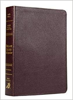 Biblia De Estudio del Expositor (Spanish) Leather Bound – 2011