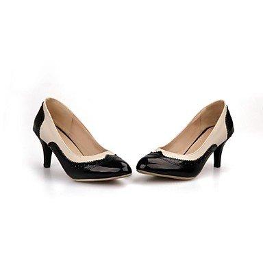 cirior Puntiaguda Mujer tacón Mujer tacón Joint Cono de amarillo más Guantes Colores con Zapatos de Bombas Zapatos Disponibles Split qR0rxwIR