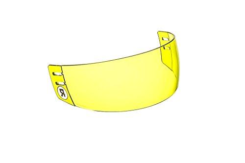 Ronin (TM) R3Y High-Definition Straight-Cut Hockey Visor (Anti-Scratch / Anti-Fog)