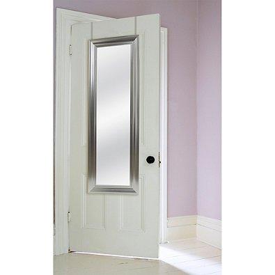 Delicieux No Tools Over The Door Adjustable Height, Mirror In Brushed Nickel,