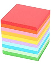 5x5cm Origami Paper, 520pcs Square Folding Paper Colorful Double Sided Origami Crane Craft Sheets