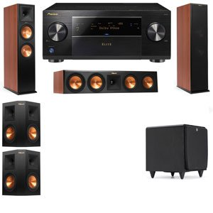 Klipsch RP-280F Tower Speakers CH-RP-450C-SDS12-5.1-Pioneer Elite SC-85