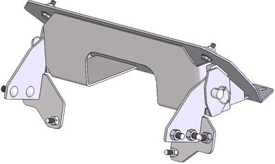 Cycle Country Atv Snow Plow - Cycle Country Wp2 Front Mount Kit 16-3070