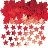 Star Table Confetti (see all colours available) (RED)