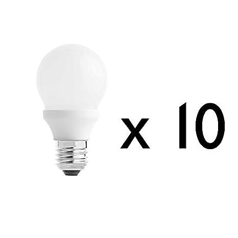 DPC6 DPC60020P10 - PACK 10 BOMBILLAS E27 ESTANDAR LED 10W 5000K: Amazon.es: Iluminación