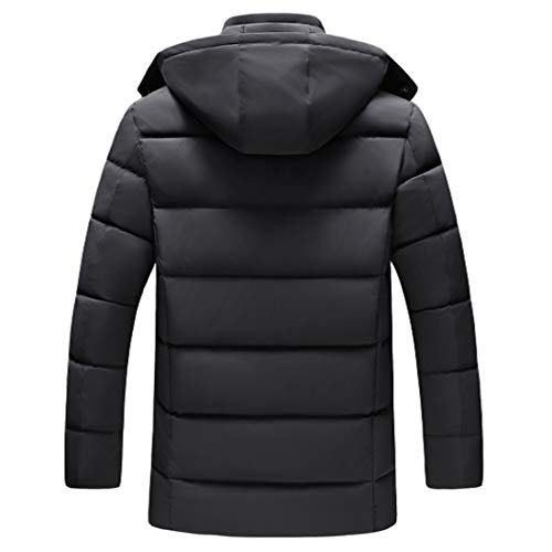 Men Outwear Winter Coat Black Warm Teenager Waterproof Windproof Down Outwear Fashion Clothing Cotton Huicai fdTn8f
