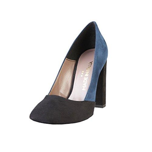 Made à Talons Chaussures Femme Aiguilles Italia in Noir Shoes 1nx4Zar16q