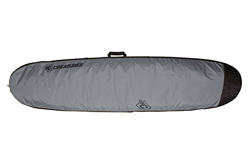 Creatures of Leisure Longboard Lite Bag Charcoal Black 9ft by Creatures of Leisure