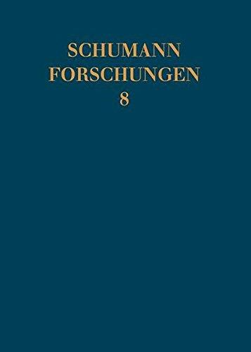 Schumann Forschungen 8: (German) by Schott
