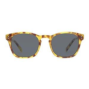 TIJN Keyhole Acetate Frame Polarized Sunglasses for Men Women