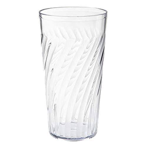GET 2221-1-CL Tahiti Plastic Beverage Tumblers, 20 Oz, Case of 6 - Tumbler Beverage Tahiti
