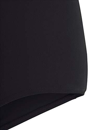ed59285ec4 Upopby Women's High Waisted Swimsuit Bikini Bottoms Tummy Control Tankini  Bottoms Swim Shorts Black S