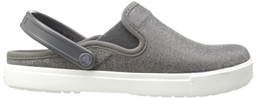 Heathered Para Zuecos Pepper Crocs Citilane Hombre 4xwHU