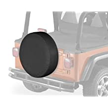 "Bestop 61030-01 Black Large Tire Cover for tires 30"" diameter, 10"" deep"