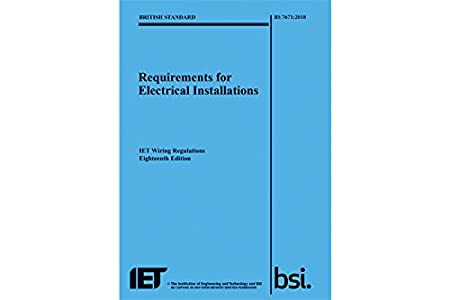 iet wiring regulations bs7671 18th edition includes c g 2382 18 rh amazon co uk iet wiring regs 18th edition iee wiring regulations 18th edition pdf