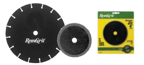 Disston E0206238 8-Inch RemGrit Carbide Grit Circular Saw Blades, Coarse Grit, 203mm