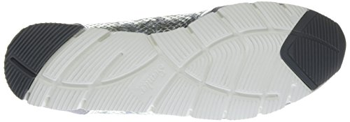 Rosa Sneakers Silber Femme Weiß silber Perle Semler dpq7fwx5d