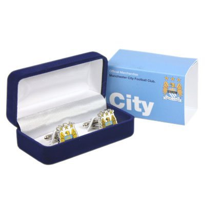 Manchester City Crest Cufflinks by Manchester City F.C.