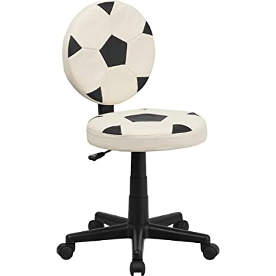 Flash Furniture Soccer Swivel Task Office Chair, BIFMA Certified: Kitchen & Dining
