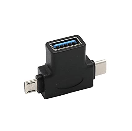 Amazon Com Micro Usb Type C Otg To Usb 3 0 Converter Adapter Hub For Ipad Pro 11 12 9inch Adapter Mobile Phone Tablet And U Disk Mobile Disk Black Baby