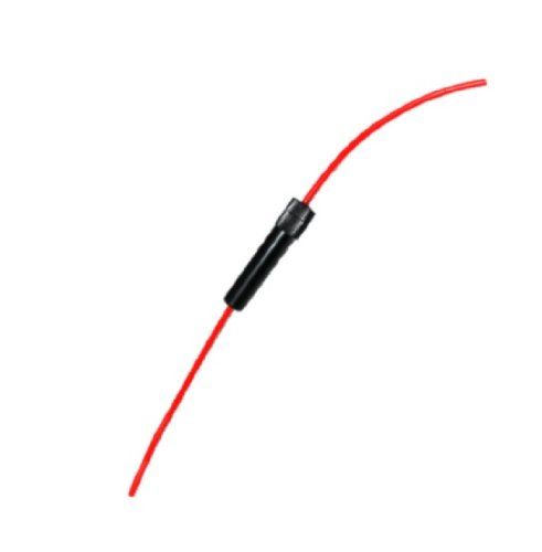 3/cm Aerzetix 3800946600305/5/St/ück Sicherungshalter f/ür Glassicherung 30/mm