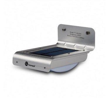 Lámpara solar exterior inalámbrico con detector de movimiento, aplique Design con detector de presencia,